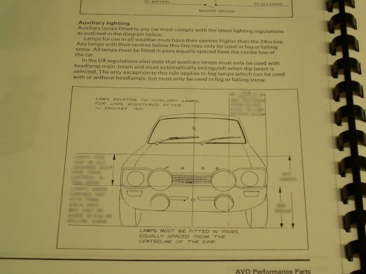 Mk1 Escort AVO Performance Parts Manuual £16.99