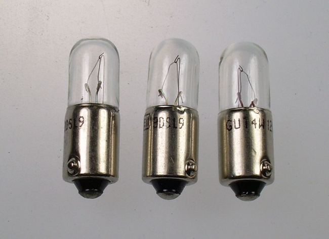 Mk2 Escort Boot Light / Licence Plate Bulbs x 3 £3.99