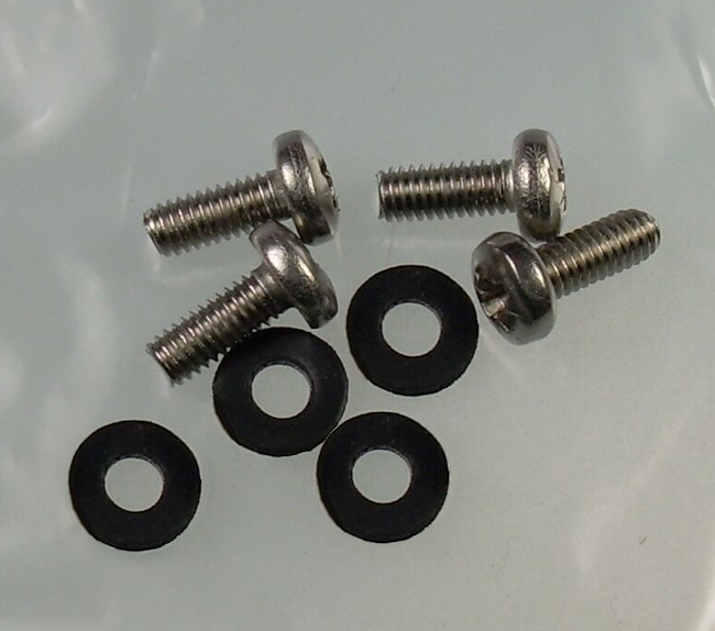 Mk2 Escort Front Indicator Lens Screws & Rubber Washers £3.99