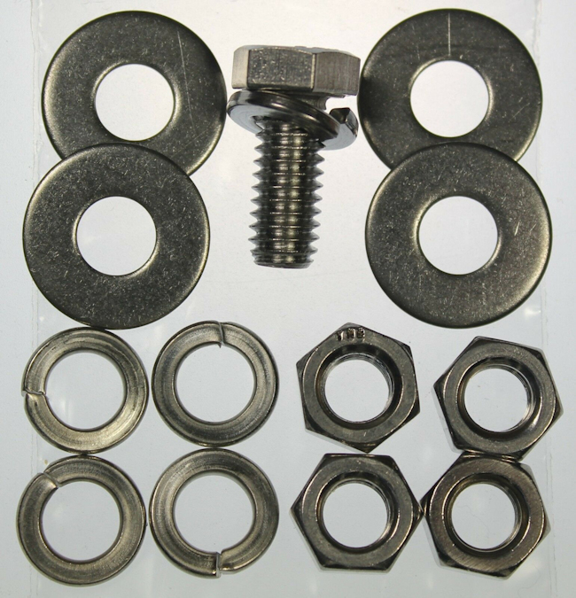 Mk1 Escort Pedal Box Fixing Set (All Stainless) £4.95