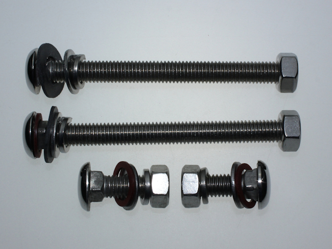 Polished Stainless Steel Rear Bumber Bolts £19.99